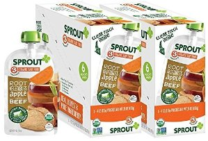 35% Off + Free ShippingSprout Organic Baby Food @ Amazon