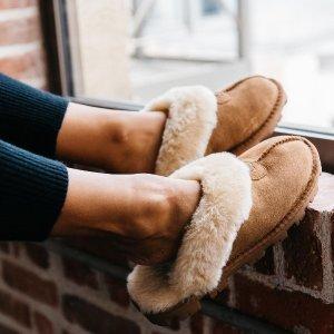 $84 (原价$105)UGG 女士毛绒绒拖鞋/家居鞋 多色可选