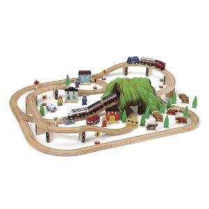 $64.97Imaginarium 木质火车轨道玩具套装