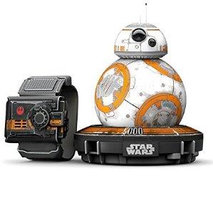 $79.99限今天:星球大战 BB-8 Sphero 迷你机器人 +  星球大战原力护腕