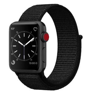 $7.99 (原价$15.99)Uitee Apple Watch 专用 42mm 黑色 尼龙表带