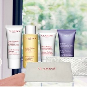 5-Piece FREE GiftWith any $100 order @ Clarins