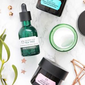 30% Off + $10 Off $60Skin Care @ The Body Shop