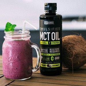 $32.2(原价$67.98)限今天:增肌減脂塑身!Sports Research MCT Oil 有机椰子油