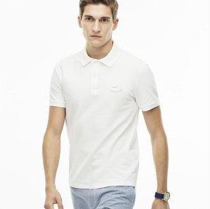 $67.99($98)Lacoste Men's Slim Fit Rubber Crocodile Stretch Piqué Polo Shirt