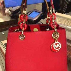 低至4折!喜气洋洋大红色上新:Michael Kors 精选红色美包服饰热卖