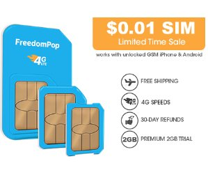 $0.01FREE Unlimited Talk, Text, 2GB 1-mo. Trial