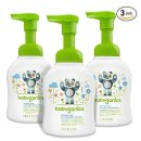 $11.68 Babyganics Alcohol-Free Foaming Hand Sanitizer, Fragrance Free, 8.45oz Pump Bottle (Pack of 3)