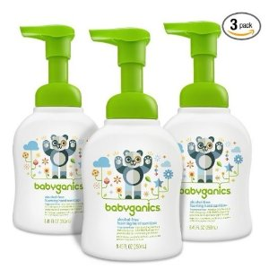 $11.68Babyganics Alcohol-Free Foaming Hand Sanitizer, Fragrance Free, 8.45oz Pump Bottle (Pack of 3)