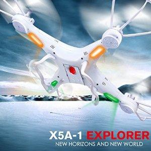 $14DoDoeleph Syma X5A-1 Explorers 2.4Ghz 4CH 6-Axis Gyro