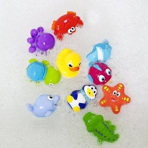 $8.56Nuby 宝宝洗澡玩具,10件