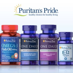 $5 Off $25 Or $15 Off $75!Sitewide @ Puritan's Pride