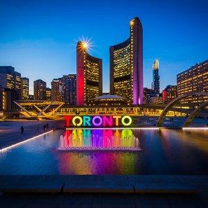 From$308 RTSan Francisco to Toronto Canada RT Airfare