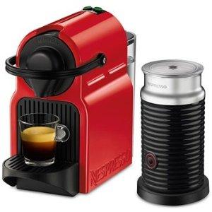 $99.99 + $10 Macy's MoneyNespresso Inissia Red Bundle