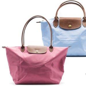 低至7折+满$100送$25礼卡 收凯特王妃同款上新:Longchamp 饺子包热卖 变相$76.5收大号饺子包