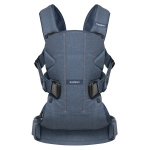 $99BABYBJORN Baby Carrier One - Black, Cotton Mix