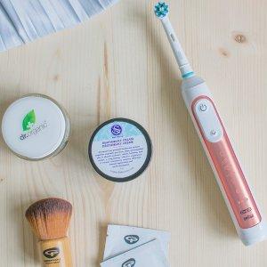 $189.99(原价$349.99)Oral-B Genius 9000 旗舰款 玫瑰金智能电动牙刷
