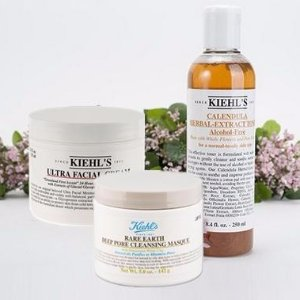 Enjoy 4 deluxe samples & limited edition canvas pouchBest Seller Products @ Kiehl's