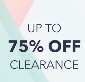 Up to 75% OffSale @ Keds