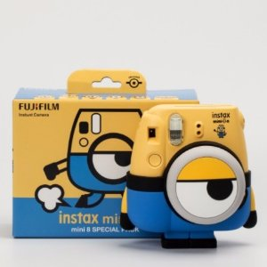 $79.99 Fujifilm - Minion Instax mini 8 Instant Film Camera