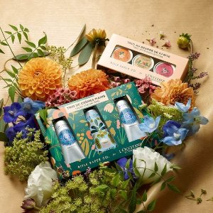 Up to $30 Gift Card + 3 Free SamplesSitewide @ L'Occitane