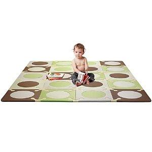 $47.99SKIP HOP Playspot Green and Brown Interlocking Foam Tiles
