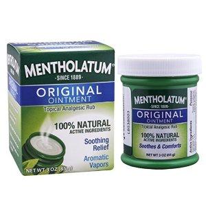 $5.09 包邮Mentholatum Ointment 曼秀雷敦薄荷膏 85g