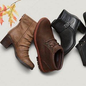 额外6折+包邮黒五价:Rockport 全场美鞋黑五热卖
