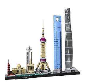 $47.99 (原价$59.99) 乐高史上首款中国题材1月新品:LEGO Architecture系列 上海天际线
