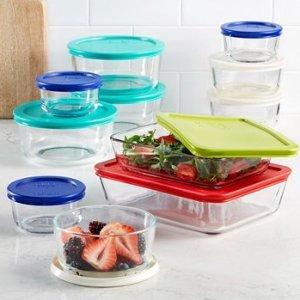 $23.99Pyrex 玻璃食物保鲜盒22件套