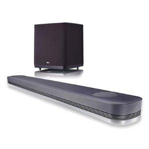 $399.99LG SJ9 Sound Bar w. 5.1.2ch Hi-Resolution Audio w/ Dolby Atmos, Wifi, Bluetooth