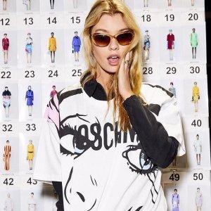 最新合作系列上新 $100出头收熊上衣Moschino 精选新款短袖、卫衣,包包等热卖