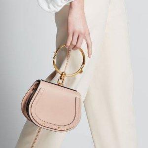 9折 满额包邮 超多春夏嫩色Nile圆环包、Faye双肩包、小猪包等Chloe美包新款热卖