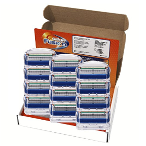 $24Gillette Fusion Manual Men's Razor Blade Refills,12 Count