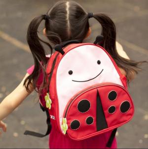 $20.54(原价$30)限今天:Skip Hop Zoo 瓢虫造型儿童背包