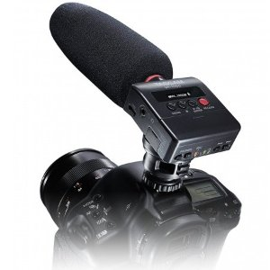 $99Tascam DR-10SG Camera-Mountable Audio Recorder and Shotgun Microphone