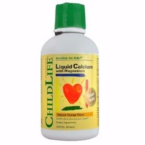 $9.24 ChildLife Calcium with Magnesium Liquid, Orange, 16 Fl Oz