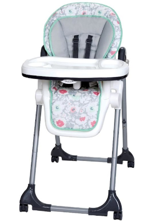 $55 Baby Trend Tempo High Chair- Floral Pop