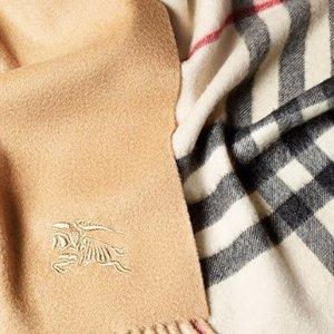 低至5折 $120收卡包 女士上衣$75起巴宝莉官网季末大促 圣诞礼物大搜罗 围巾、钱包、领带买不停
