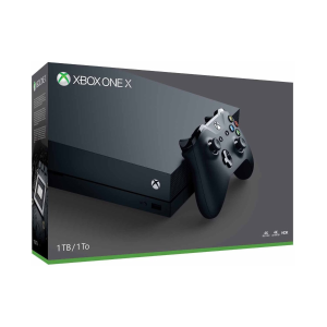 $449.95 (原价$499.95)Xbox One X 1TB 游戏主机