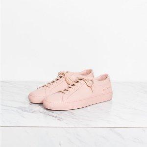 $196.8 + 免邮 码全Common Projects 运动鞋 粉色满满少女心