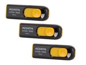 $143 x ADATA 16GB UV128 USB 3.0 Flash Drive AUV128-16G-RBY