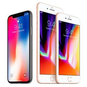 iPhone X 256GB 退税后8.25折Apple iPhone X、iPhone 8 等苹果手机热卖