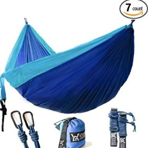 $16.93Winner Outfitters Double Camping Hammock @ Amazon.com