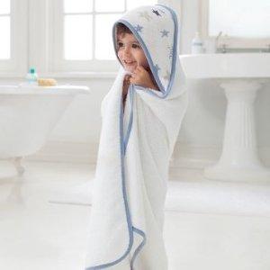 $9.4(原价$24.99)aden + anais 婴幼儿连帽浴巾