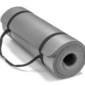 $34.13Spoga Premium 高密度加厚防滑瑜伽垫,运动减肥达人必备