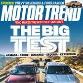 $4.25/yearMotor Trend Magazine Subscriptions