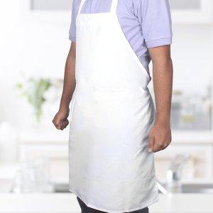 $1.90白菜价:chiCK PROGram 纯棉围裙 白色