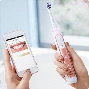 5折入新旗舰 让牙齿更洁白Oral-B Genius 9000 智能电动牙刷套装 玫瑰金