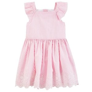 Up to 70% Off + Extra 20% Off $40New Arrivals Girl's Dresses @ Carter's